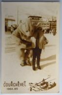 Carte Postale : 73 COURCHEVEL 1964 1965, Photo D'un Enfant Avec Un Ours Blanc - Courchevel