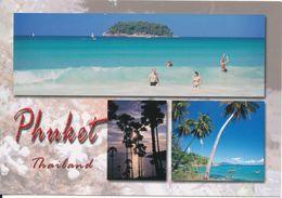 Thailand Postcard Sent To Denmark (Beautiful Views Of Phuket) - Tailandia