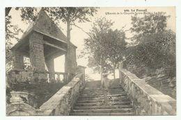 Le  Faouet (56 - Morbihan) L'entrée De La Chapelle Sainte-Barbe - Faouët