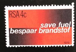 RISPARMIO ENERGETICO / SAVE FUEL - ANNO/YEAR 1979 - África Del Sur (1961-...)