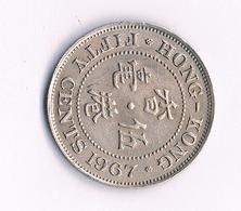 50 CENTS 1967 HONGKONG /4560/ - Hongkong