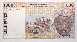 Guinée-Bissau - 1000 Francs - 1998 - PICK 911 Sb - NEUF - Guinea-Bissau