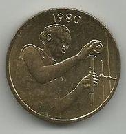 West African States 25 Francs 1980. FAO  High Grade - Münzen