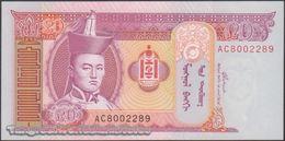 TWN - MONGOLIA 63b - 20 Tögrög 2002 Prefix AC UNC - Mongolia