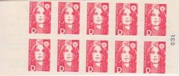 Marianne De Briat, à Valeur D N° 2713-C1  (Changement De Tarif Lettre D), Neuf ** - Usage Courant