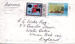 TRINIDAD & TOBAGO. N°240 De 1969 Sur Enveloppe Ayant Circulé. Drapeau. - Covers