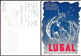 QSL LU6AL Buenos Aires, Argentina To LU2CN Argentina - 10/05/1968- Cygnus - Radio