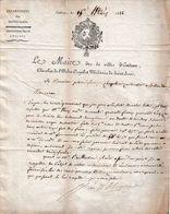 1822 EMBRUN (05)  L.S. Du Maire à M. Pierre François CHAPPELUE, Cultivateur à BELLEYDOUX - Documents Historiques