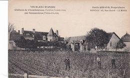 Vin Blanc D'Anjou Chateau De Chamboureau 1ers Grands Crus Par Savennières Emile Girard Propriétaire Le Mans - France
