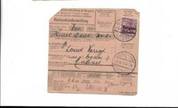 Zahlkarte Aus Lüttich 1918 - Allemagne