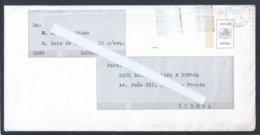 Envelope De Porte Pago De Natal Com Flâmula Só Com Datador 1979. Postal De Natal Com Sagrada Família De José Franco.2s - Variétés Et Curiosités