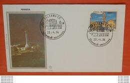 ITALIEN 2323 Tourismus - Messina --- FDC Cover (2 Foto)(71957) - 1946-.. République