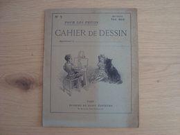 CAHIER DE DESSIN N°7 METHODE VAN MOE VUIBERT ET NONY EDITEURS - Protège-cahiers