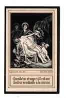 IMAGE PIEUSE, RELIGIEUSE . VAN DYCK . THÉOPHILE ÉDOUARD VITSE CHAPELAIN DU COMTE DE RIBAUCOURT - Ref. N°10414 - - Devotion Images