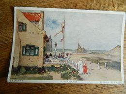 "LA PANNE +GUERRE 14/18 :LE CABARET ""IN EDE KLOKKE15/08/1915 - De Panne"
