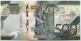 Kenya - 500 Shillings - 2019 - PICK 55a - NEUF - Kenya