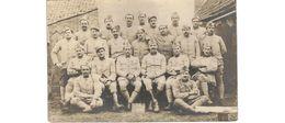 Carte Photo / Groupe De Soldats Français /  Photographie Boubert , Bergues - Guerra 1914-18