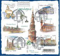 1Capitales Européennes Copenhague 2012 - Oblitérés