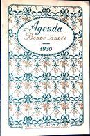 ALMANACH CALENDRIER 1930 OFFERT PAR UN LABORATOIRE MEDICAL NOMBREUSES THERAPIES COMPLET TRES BON ETAT - Kalender