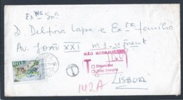 Fined Letter. Stamp 100 Years Of Orthern Douro River Railway. Carro De Bois. Selo 100 Anos Caminho De Ferro Norte Douro - 1910-... République