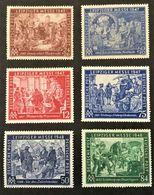 1947-1948 Leipziger Messe *) Mi.941-942, 965-966, 967-968 - Soviet Zone