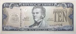 Liberia - 10 Dollars - 2011 - PICK 27f - NEUF - Liberia