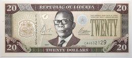 Liberia - 20 Dollars - 2004 - PICK 28b - NEUF - Liberia