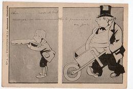 Illustrateur BENJAMIN RABIER * JEUNESSE ILLUSTREE N° 2 * BROUETTE * SANDWICH * HUMOUR * CONSEIL * HAUT DE FORME - Rabier, B.