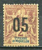 SAINT-PIERRE ET MIQUELON  N°  94 *  (Y&T)  (Charnière) - Ungebraucht