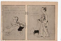 Illustrateur BENJAMIN RABIER * JEUNESSE ILLUSTREE N° 3 * CHIEN * CHAPEAU MELON * CONSEIL * HUMOUR - Rabier, B.