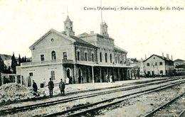 CAIFFA  =  Station De Chemin De Fer Du Hedjaz    1537 - Palestina
