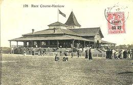 Sur CPA (course à  Hankow)N°76 Obl.SHANGHAI - 1910 - - Cina