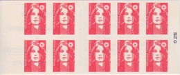 Marianne De Briat, TVP Carnet De 10 TP N° 2874-C3  (Timbres-Poste à Validité Permanente, Vatican), Neuf ** - Usage Courant