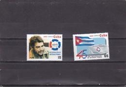 Cuba Nº 4369 Al 4370 - Unused Stamps