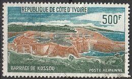 Côte D'Ivoire 1972  Achèvement Du Barrage De Kossou  (G14) - Côte D'Ivoire (1960-...)