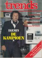 Trends 2 September 1983 - EGEMIN - Willy De Clercq Fiscale Amnestie - Westvlaams Vleesbedrijf - Industriehotel - Informations Générales