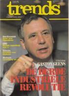 Trends 15 April 1982 - Gaston Geens - Neo-Keramiek - Dujardin - Muntunie - Informations Générales