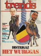 Trends 15 Januari 1982 - Distrigaz - Kabinetschefs - Seghers Engineernig - StuVex - Revi - Informations Générales