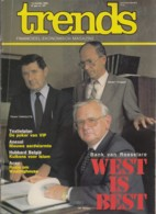 Trends 14 Oktober 1982 - Bank Van Roeselare - Florent Vanhoutte Gerard Tyvaert Jan Sercu - Textielplan - Anexal - Hubbar - Informations Générales