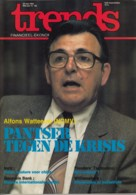 Trends 26 Mei 1983 - Alfons Watteeuw NCMV - Incir - Generale Bank - Williamsburg - Flander's Technology - Informations Générales