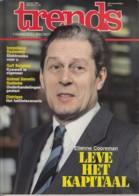 Trends 3 Maart 1983 - Etienne Cooreman - Gulf Belgium - Animal Genetic Systems - Distrigaz - Informations Générales