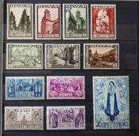 Timbres Belgique : Deuxième Orval 1933 COB N° 363 à 374 NEUF * & - Belgium