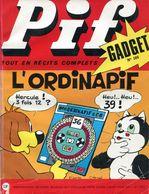 Pif  Gadget N°185 - Loup-Noir - Docteur Justice - Pif Gadget