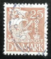 Danmark - D1/14 - 1934-1939 - (°)used - Zeilschip - 1913-47 (Christian X)