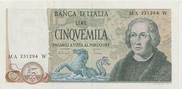 ITALY P. 102c 5000 L 1977 XF - 5000 Lire