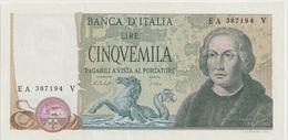 ITALY P. 102c 5000 L 1977 AUNC - 5000 Lire