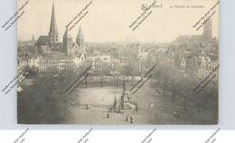 "B 9000 GENT, Le Marche De Vendredi, Deutsche Feldpost ""B.A.K.-Schule Ostende"", 1916 - Gent"