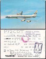 QSL PY2CDT Brasilia, Brasil To LU1ZA Antartida Argentina - 06/11/1966 - Cygnus - Radio