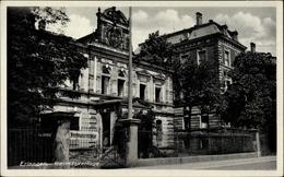 Cp Erlangen In Mittelfranken Bayern, Freimaurerloge, Vorderansicht - Cartes Postales