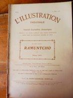 RAMUNTCHO  (origine--->  L'illustration Théâtrale, Daté 1908 )  Par Pierre Loti - Auteurs Français